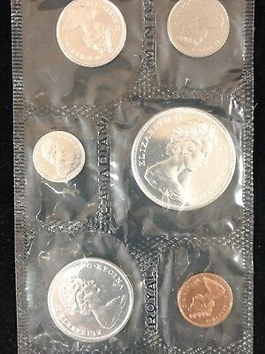 1967 Centennial Royal Canadian Proof Coin Set $1 - 1C Contains Silver No Reserve