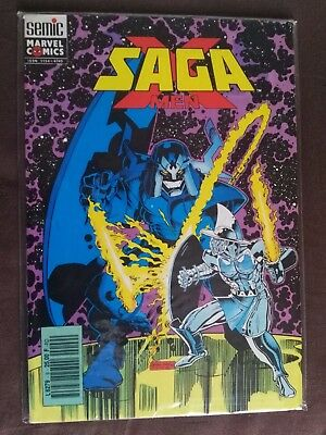 X-Men SAGA N°9 - 1992 - Marvel - Semic