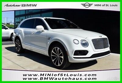 2017 Bentley Bentayga W12 2017 W12 Used Turbo 6L W12 48V Automatic AWD Moonroof Premium