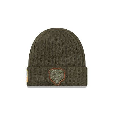 New Era NFL CHICAGO BEARS Salute to Service 2017 Authentic Sideline Knit OVP