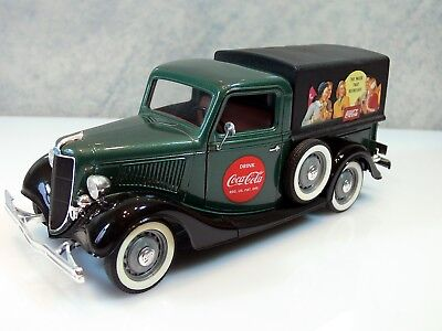 Modellauto SOLIDO * FORD V 8 PICK UP 1934  COCA COLA* 1:19 * grün Metallic * TOP