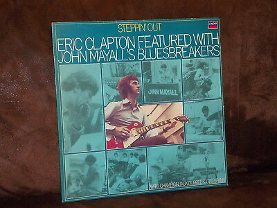 Vinyl-LP: ERIC CLAPTON featured with JOHN MAYALL'S BLUESBREAKERS - Steppin' Out