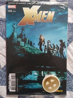 X-Men N°135 avec badge Neuf - Marvel - Panini Comics