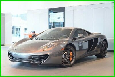 2013 McLaren MP4-12C Coupe 2013 Coupe Used Turbo 3.8L V8 32V Manual RWD Premium