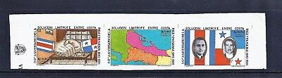 Panama Imperf Proof Stamp  - #793 Strip Of 3 - Very Very Rare