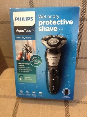 Bnib Philips Aquatouch S5420/06 Wet & Dry Protective Shaver With Smart Click Pre