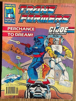 Transformers UK Comic Issue 255