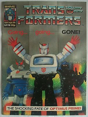 Transformers UK Comic Issue 78