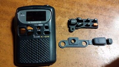 Icom IC-Q7E Front panel and keyboard / PTT rubbers