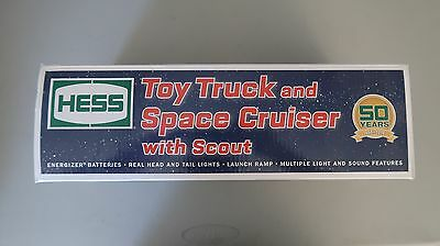 2014 50th Anniversary Hess Toy Truck & Space Cruiser with Scout - Mint *NEW*