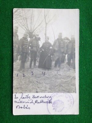 Military     Austro - Hungarian Army    Soldiers    Rp     Vintage Postcard