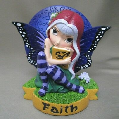 Faith Fairy Figurine - Fairies Virtues Collection  - Jasmine Becket Griffith