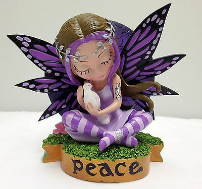 Peace  Fairy Figurine - Fairies Virtues Collection  - Jasmine Becket Griffith