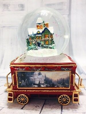 Wonderland Express Snowglobe Train issue #13 Thomas Kinkade