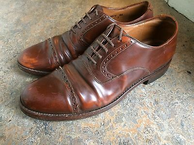 vintage '70s DACK'S derby oxford brown rockabilly hipster mens shoes