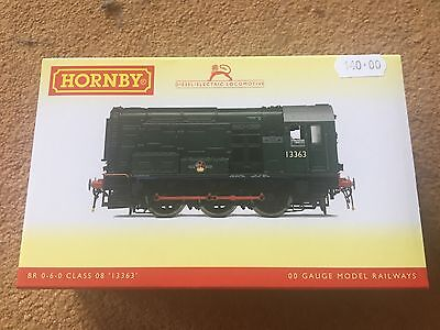 """Brand New Boxed Hornby Br 0-6-0 Diesel Electric Class 08 Locomotive-""""13663"""""""