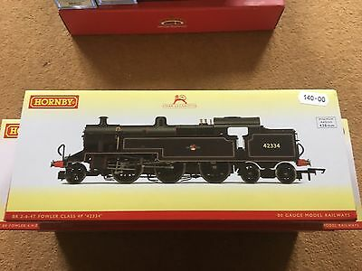 Brand New Boxed Hornby-Br 2-6-4T Fowler Class 4P-42334