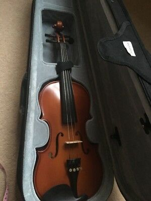 Paragon Child's 1/2 Size Violin 20inch Length & 24inch Bow