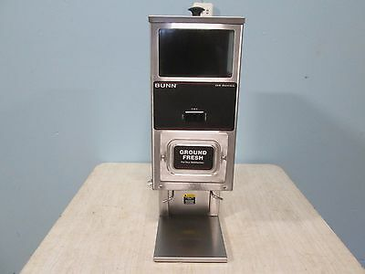 """bunn G9-T Hd Tall Intfc-Dual"" H.d. Commercial (Nsf)  Precision Coffee Grinder"