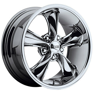"FOOSE F10589069 Mustang Legend Wheel 18""x9"" Chrome 1965-1973"