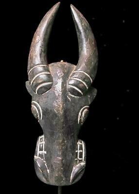 Old Tribal Bamum Bull   Mask   --  Cameroon