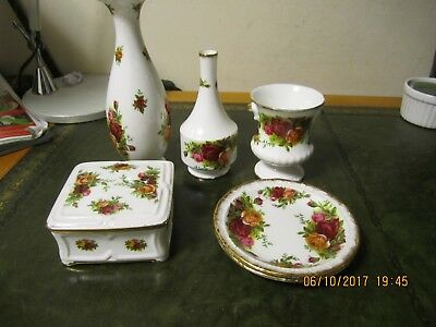 Royal Albert Old Country Roses Gift Ware 6 Pieces