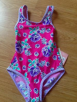 BNWT John Lewis Girls/' Blue Swimsuit Age 9 Years FREE P/&P Butterfly Halterneck
