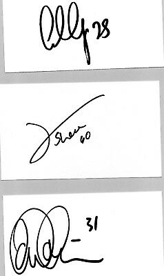 Luton Town Goalkeepers - 3 Autographs