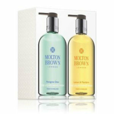 Molton Brown Pettigree Dew & Lemon & Mandarin Hand Wash Duo Set 300ml