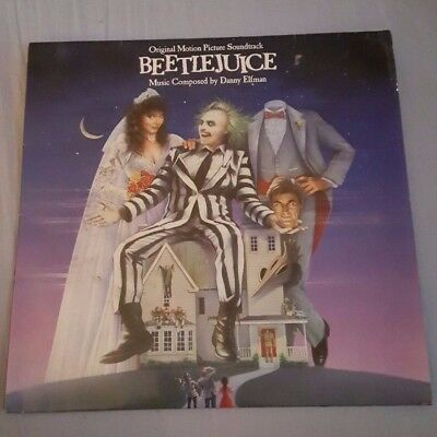 Beetlejuice Soundtrack Vinyl LP  Music Composed by Danny Elfman