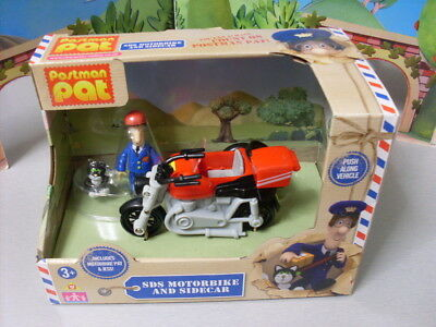 Postman Pat Sds  Motorbike With Pat And Jess   New