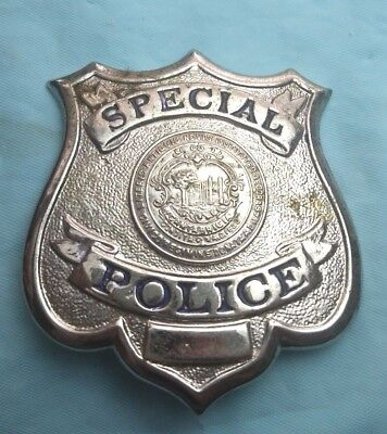 Obsolete! Defunct 1930's Cambridge, MA Special Police Officer Badge