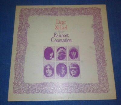 Unusual Release Of Fairport Convention L.p. 1969.  'liege & Lief.'  Ilps 9115.
