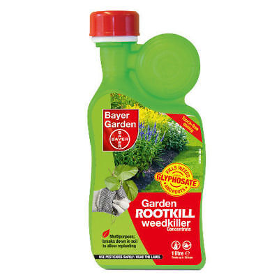 Garden Rootkill Weedkiller Concentrate 1 Litre Bayer Garden