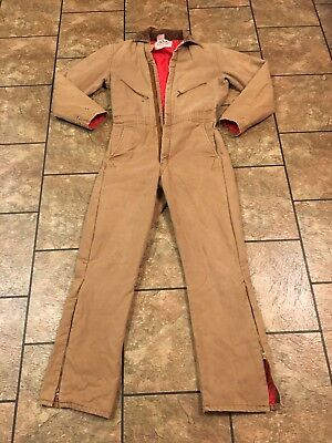 Walls Insulated Coveralls Small Chest Blizzard Pruf Hunting Made In USA 🇺🇸
