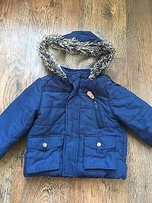 Boys padded winter coat 12-18 months