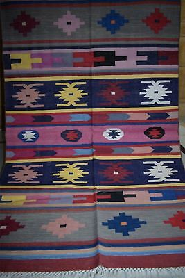 100% Cotton Design Hand Made Carpet & Rug16