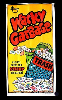 1973 -1974 Topps Wacky Packages Poster WACKY GARBAGE #13
