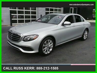 2017 Mercedes-Benz E-Class E 300 Luxury 2017 E 300 Luxury Used Certified Turbo 2L I4 16V Automatic Rear Wheel Drive