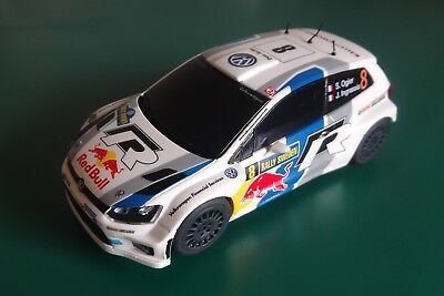 Scalextric C3525 Volkswagen Polo WRC No.8  DPR  - Excellent Condition