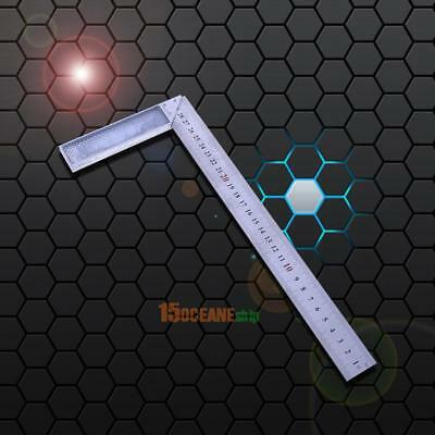 Metal Steel Engineers Try Square Set Measure 90 Degree Right Angle Woodworking