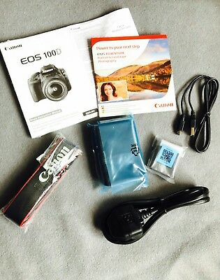 Canon eos100d accessory pack