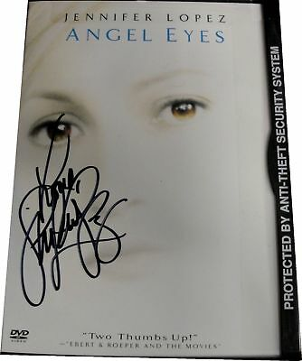 Jennifer Lopez Angel Eyes Autograph DVD Hand Signed on cover With COA