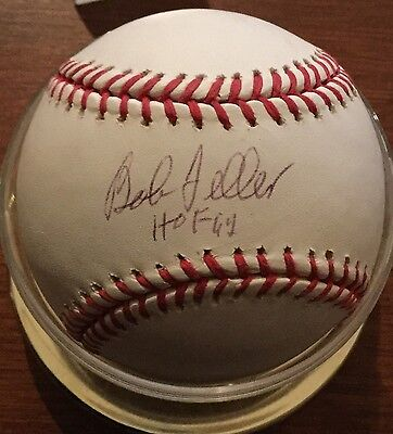 Bob Feller Autographed Baseball, Tri Star Authenticated