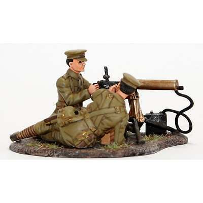 Empire Miniatures 1:32 W1-1412 WW1 2 Figure BEF Maxim Machine Gun Team