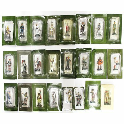 ALMIRALL PALOU ALM24 - Box x 24 pcs 1:32 Assorted Soldier Figures - Heavy Metal