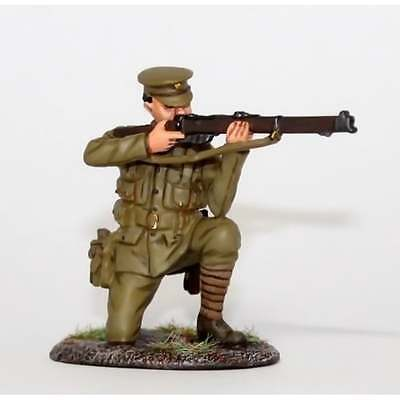 Empire Miniatures 1:32 W1-1414 WW1 BEF Private Kneeling Firing No 1