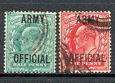 (Gbaa 436) Gb Kevii 1902 Used Official Army