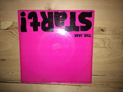 "The Jam Paul WELLER Start 7"" Single"