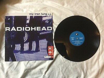 Radiohead - My Iron Lung (1994) EP LP record LTD numbered 1688 original